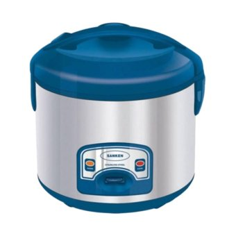 Sanken Magic Com, Magic Jar, Rice Cooker, Penanak Nasi 2 Liter 6in1Biru - SJ2000SP