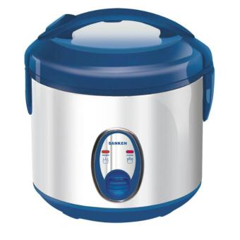 Sanken Magic Com, Rice Cooker, Magic Jar, Penanak Nasi Super ComStainless 1 Liter - SJ120SP