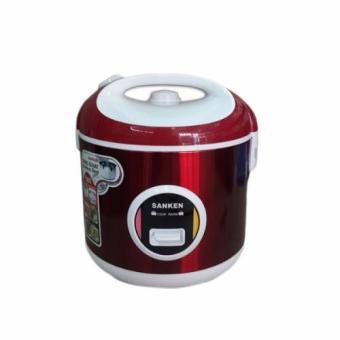 Sanken SJ200 Rice Cooker Tradisional 1L - Merah (Red)