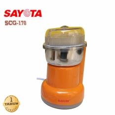 SAYOTA Coffee Grinder Penggiling Biji Kopi,Blender Obat, Bumbu SCG-178