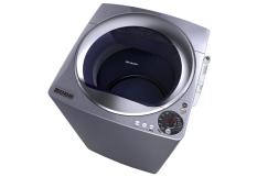 Sharp Mesin Cuci Top Loading 10 Kg - ES-M1108T-SA - Abu-abu