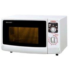 Sharp R-222Y-W Microwave Oven 22 Liter Low Watt - FREE ONGKIR - Khusus JADETABEK
