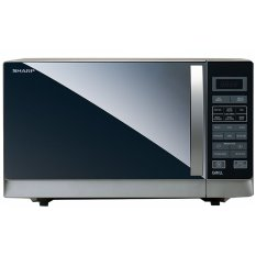 Sharp R-728-S-IN Microwave Oven - Silver