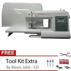 Singer 6199 Brilliance - Mesin Jahit Digital + Gratis Tool Kit Set SJS