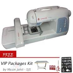 Singer XL-400 Futura™ Computerised Jahit Dan Bordir + Gratis VIP Packages Kit