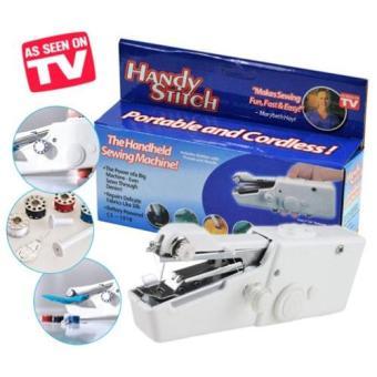 Universal Handy Stitch Portable Handheld Sewing Machine - MK02 - White (White)