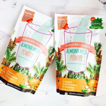 2 box Asi Booster / Susu Almond / Yummy's Almond Milk Powder