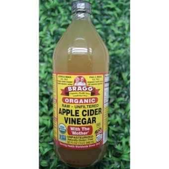 Apple Cider vinegar Bragg 32oz (946 ml) / Cuka Apel Organik ASLI(ORI) USA
