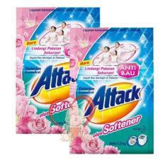 ATTACK deterjen dengan softener 1200 gr ( 1.2kg ) - isi 2 pack