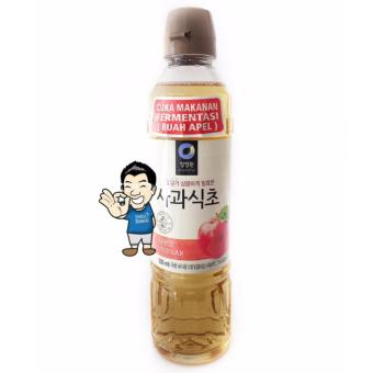 Chung Jung One (Daesang) Apple Vinegar/ Cuka Apel Korea- 500ml