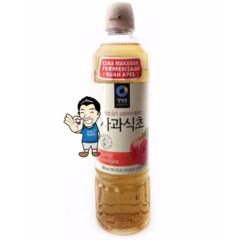 Chung Jung One (Daesang) Apple Vinegar/ Cuka Apel Korea- 900ml