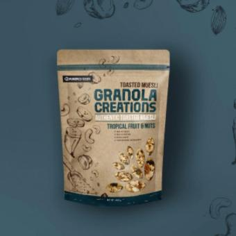 Granola Creations Tropical Fruits& Nuts 240gr