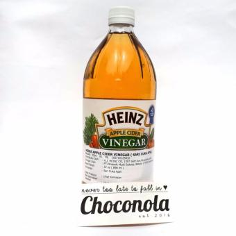 Heinz Apple Cider Vinegar 32oz Cuka Apel ACV 896ml (Alternatif Bragg)