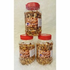 KACANG ALMOND IN SHELL 500gr ( USA - CALIFORNIA )