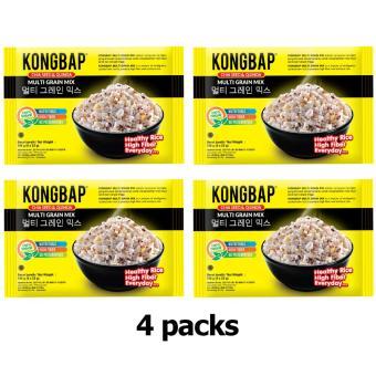 Kongbap Chiaseed Quinoa - Multi Grain Mix - 4 pack
