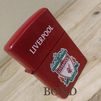 Korek Api Komunitas Liverpool Lighter Anti Angin