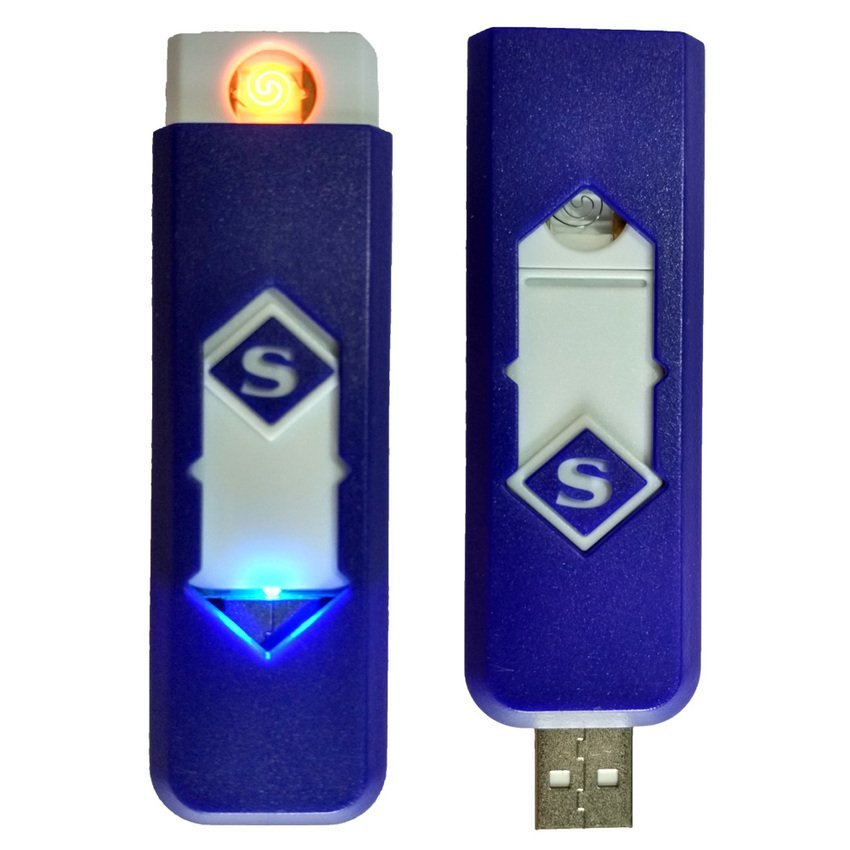 Korek Elektrik - Korek Api Lighter USB Anti Angin