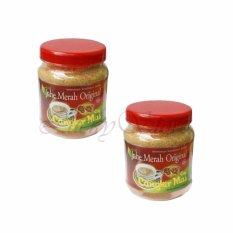 Lucky Jahe Merah OriginalCangkir Mas Toples - Minuman Kesehatan Herbal - 2 Pcs