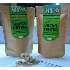 MY GREEN COFFEE POWDER/KOPI HIJAU BUBUK ORGANIK ALAMI 200GR