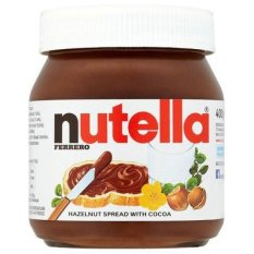 Nutella Hazelnut Spread with Cocoa - 350 gr ( BPOM )