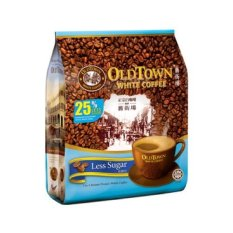 Old Town White Coffee 3in1 Less Sugar 40g X 15s