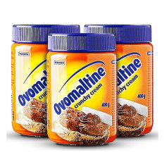 Ovomaltine Crunchy Cream Spread 400 Gram - 3 Pcs