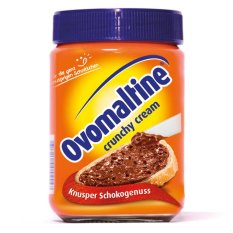 Ovomaltine Crunchy Cream Spread 400 Gram - 4Pcs