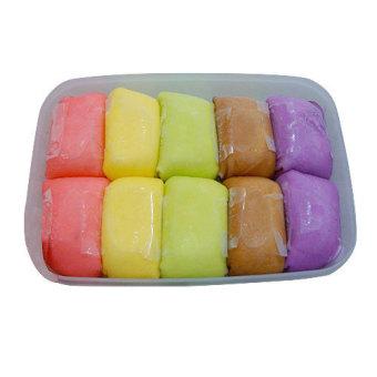 Pancake Durian Asli Medan Rainbow