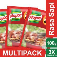 Royco Bumbu Kaldu Sapi 100g Multi Pack