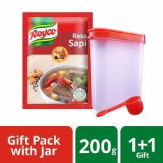 Royco Bumbu Kaldu Sapi 200gr FREE Jar Bumbu