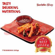 Samwon Tteokbokki / Tokpoki 200 Gr Fresh - Samwon Makanan Korea Enak Lezat Bergizi (Kue Beras Korea)