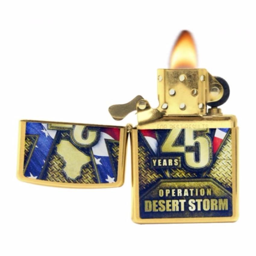 Zippo 29177 Operation Desert Storm 25th Anniversary Original USA