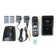 2.4G Digital Wireless Intercom System Door Bell Wireless Remote Unlock 3 Indoor (SY601A13) - UK Plug