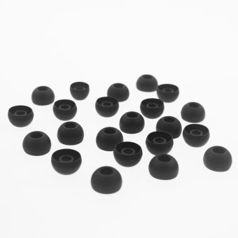 10 Pairs Large Replacement Black Silicone EARBUD For Skullcandy In-ear Earphones