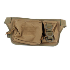 1000D Cordura Waterproof Nylon EDC Concealed Packs Waist Bag Tactical Mini Camera Packs Bags Magazine Pouches Bag (Tan) - Intl