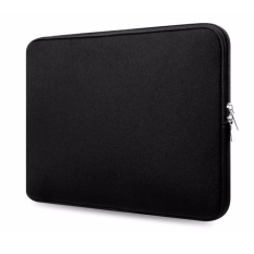 13 Inch Water Resistant Thickest Protective Slim Laptop Case for Macbook Portable Laptop Sleeve Liner Package Notebook Snug Case Bag Soft Sleeve Bag Case (Black) - intl