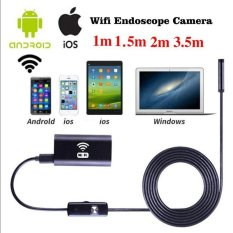 1.5m 8mm WIFI Endoscope Waterproof 1.0MP Micro Camera For iPhone Android Phone - intl