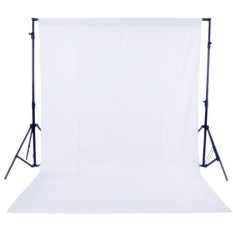 1.6 x 3M / 5 x 10FT Photography Studio Non-woven Backdrop / Background Screen 3 Colors (White)