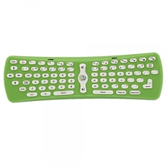 2.4G Wireless Fly-mouse Computer Keyboard Green
