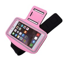 2016 High Quality Waterproof Sport Running Arm Band Case (Pink)