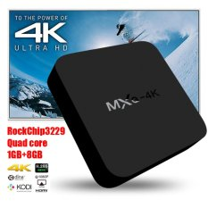 2017 Anroid TV Box MXQ 4K Android 5.1 Smart TV Box Quad Core Set Top Boxes XBMC Kodi Pre-installed WiFi 4K 1080P 64bit Internet TV Box - intl