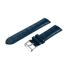 20mm Leather Strap Replacement Watch Band Wrist Strap BU - intl