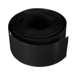 29.5MM PVC Heat Shrink Tubing Layflat Wrap Li-ion 1865.18500 Battery 2M (Black) (Intl)