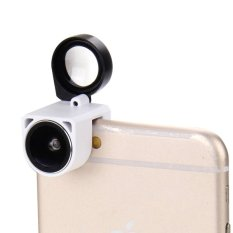 3 in 1 180 Degree Fisheye Lens + Marco Lens + Wide Lens for iPhone 6 and 6 Plus