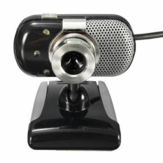 3 LED Lights USB 2.0 HD Mini Webcam With Built-in Microphone (Intl)