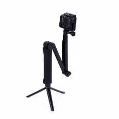 3 Way Waterproof Monopod Extendable Handheld Monopod selfie Stick for Gopro 4 3+ - intl