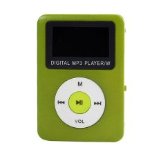 32GB USB Digital MP3 Player LCD Screen (Green)