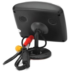 3.5 Inches Car Rearview LCD Monitor/E350 Waterproof RearviewCameraSystem w/ 7-LED - Black - intl