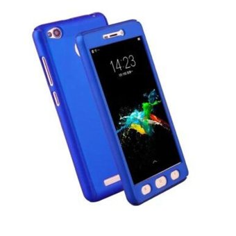 360 Degree Full Body Coverage Protection Case Hard PlasticShockproof Cover with Tempered Glass for Xiaomi Mi