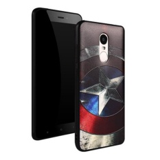 Kasus Kartun Samsung Source 3D Slim Stereo Relief Painting Silicon TPU Phone